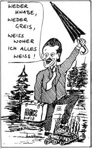 Menzel Karikatur