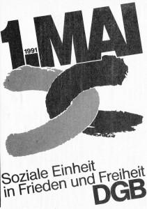 logo 1.Mai 1991