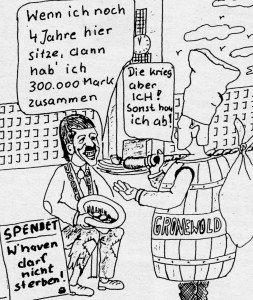 Karikatur: Erwin Fiege