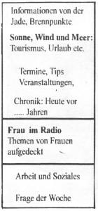 Radio_Jade Programm 6