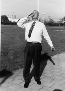 Johan Anton van Weelden trinkt City-Diesel - Oktober 1995