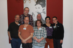 Die Gründungsmitglieder (v.l.): Georg Berner-Waindok, Ulf Berner, Andreas Tschoepe, Jan Meggers, Tanja Benic, Petra Klemm, Claudia Klemm