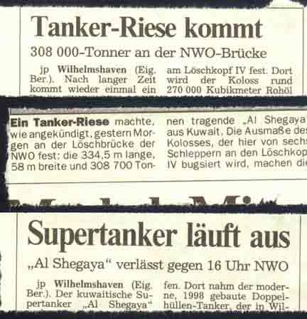 tanker-riese
