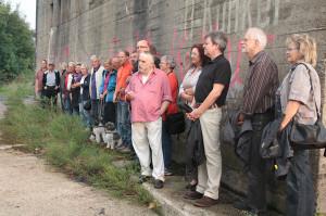 Wilhelmshavener|innen wollen ihre Bunker als Zeitzeugen erhalten. Foto: Gegenwind|Imke Zwoch