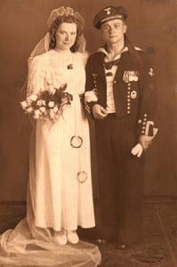 Die Großeltern von Holger Raddatz. Ohne Bunker hätte die Familiengeschichte ganz anders aussehen können.