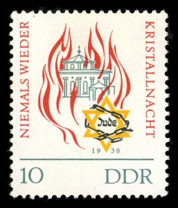 DDR-Briefmarke vom 9.11.1963. Quelle: Wikipedia commons