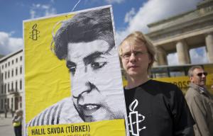 Amnesty international kämpft weltweit gegen Folter. Foto Christian Ditsch / ai