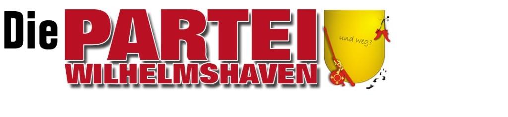 Logo DIE PARTEI Wilhelmshaven
