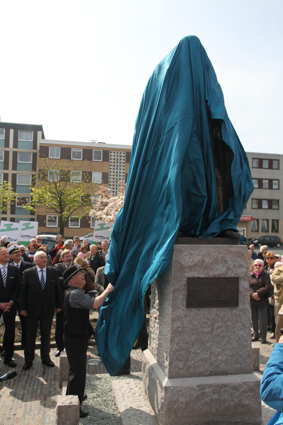 Bismarck Denkmal Wilhelmshaven Denkmal Otto Von Bismarcks