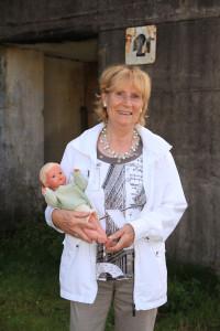 Zeitzeugin des Bombenkrieges: Rosmarie Bohl. Foto: Gegenwind