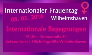 Frauentag Internationale Begegnungen