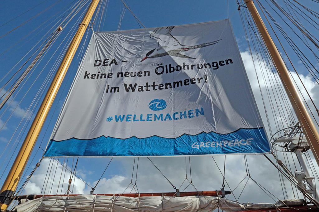 """Die """"Beluga"""" im Hafen Hooksiel, August 2016. Foto: Gegenwind"""