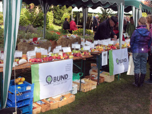BUND-Informationsstand beim Apfelfest