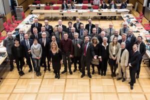 Die Mitglieder des neu konstituierten Rates der Stadt Wilhelmshaven. Foto. Gegenwind