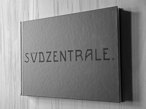 "Buchcover ""Südzentrale."""