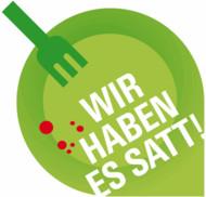 Logo: Wir haben es satt