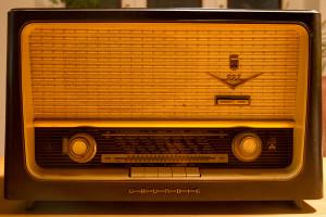 Grundig Röhrenradio. Foto: Imke Zwoch