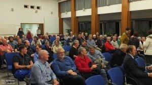 """Gut besicht war die Podiumsdiskussion zum Thema """"Fahrradstadt Wilhelmshaven"""". Foto: Berner"""