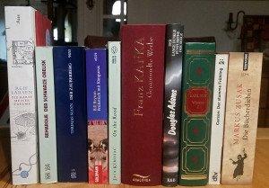 Bücher. Foto: Gegenwind