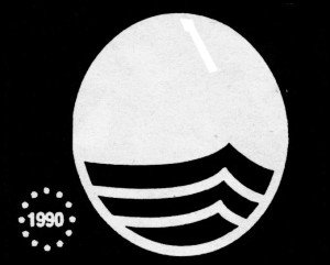 Die Blaue Europa-Flagge 1990