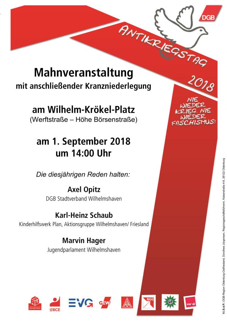 DGB_Plakat-WHV-Antikriegstag_2018