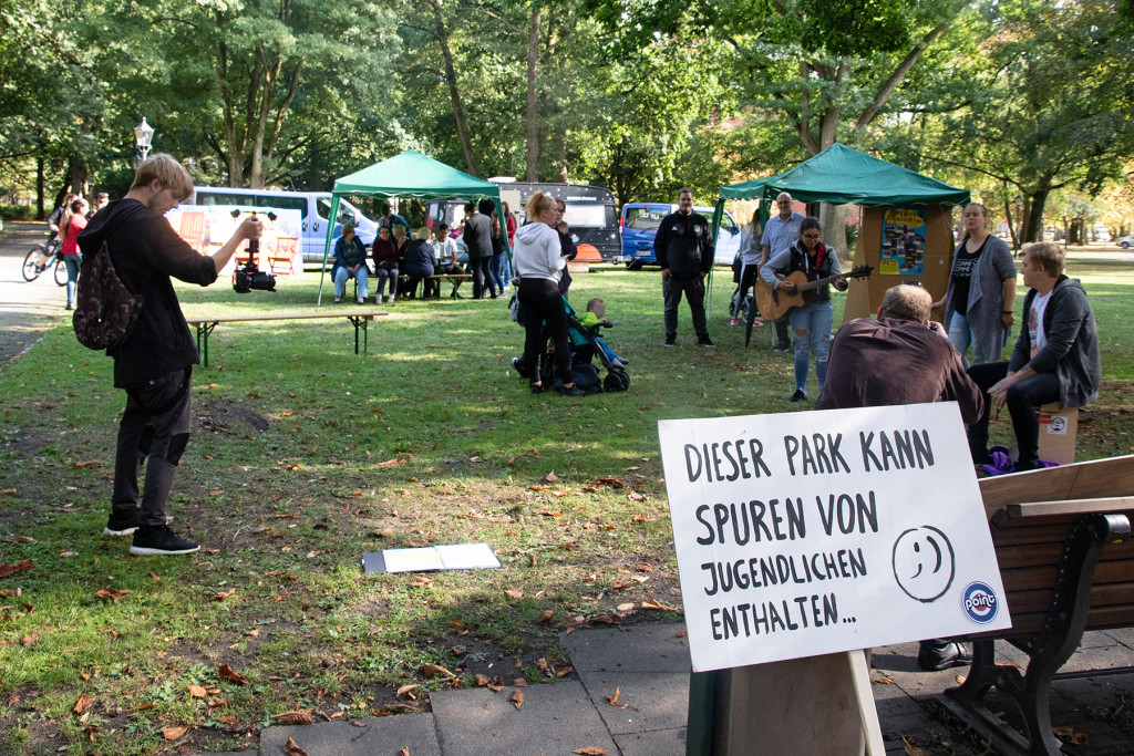 """Veranstaltung """"Platz nehmen"""" im Friedrich-Wilhelm-Park"""