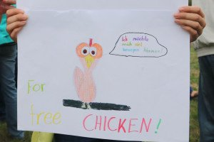 "Kinderbild ""freechicken"""