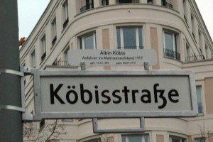 Straßenschild in Berlin. Foto: Imke zwoch