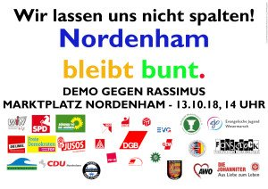 Nordenham bleibt bunt-mit Logos
