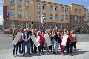 BeteiligteDesKulturkarussellsVorDemStadttheater