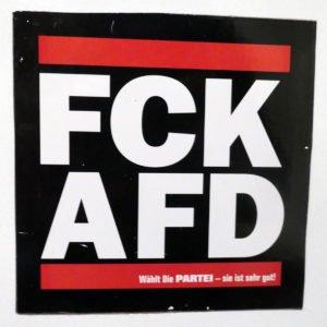 Aufkleber FCKAFD