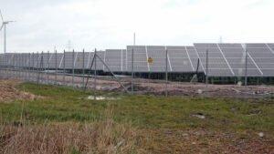 Solarpark bei Sengwarden. Foto: BUND